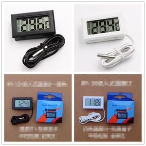 Écran LCD thermomètre numérique Réfrigérateur avec compartiment congélation aquarium de poissons Température -50 ~ 110C GT avec Retail BOX 1M Câble