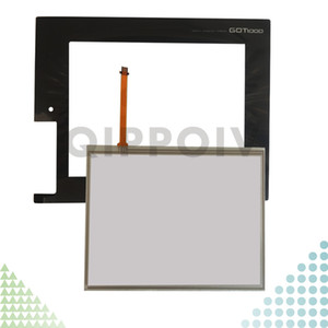GT1665M-VTBA GT1665M-VTBD Neue HMI PLC Touchscreen Panel Touchscreen und Front-Etikett