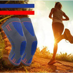 Hohe Elastizität Breathable Knieschützer Knieschützer für Laufen, Gelenkschmerzen Relief, Arthritis und Verletzung Recovery