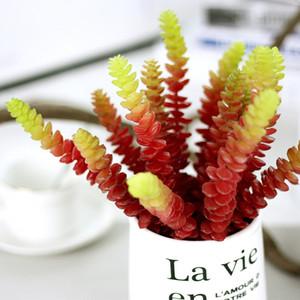 5 Pcs Simulation Succulentes Fleurs Artificielles Ornements Mini Vert Succulentes Artificielles Plantes Jardin Décoration Fleurs Décoratives Wrea