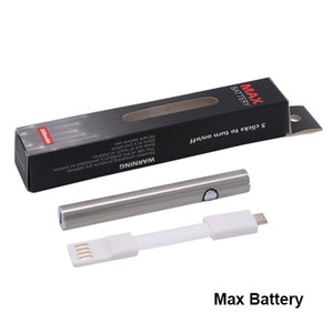itsuwa Amigo Max battery Variable voltage vaporizer pen 510 preheating batteries open Thick oil cartridges e cigarette vape pen 2 colors