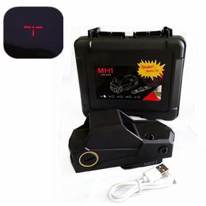 MH1 Taktik Red Dot Sight Kapsam Refleks Sight QD hızlı Ayır Dağı Ile Holografik Red Dot Tüfek Sight Avcılık