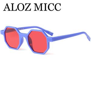 ALOZ MICC Occhiali da sole da donna esagonali piccoli classici Uomini 2018 Occhiali da sole retrò da poligono stile moderno Occhiali da sole femminili UV400 A436