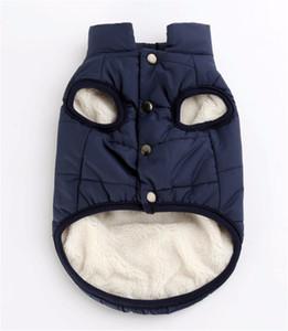 Pet Dog Gilet Veste Vêtements Automne Hiver coupe-vent manteau chaud manteau pour chien pour Small Medium Large Dogs XS-3XL