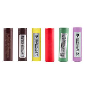 Originale HG2 30Q 3000 mAh INR18650 25R HE2 HE4 2500 mAh 18650 Batteria Li-ion Rechargable Per LG Samsung E Cig Mod Authentic