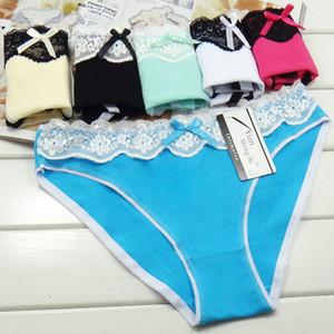 Femmes Slips Femmes Sous-vêtements Coton Panties Sexy Lingerie Femme Bragas Mujer Dentelle Patchwork Lady Culotte Femme Intimate Hot
