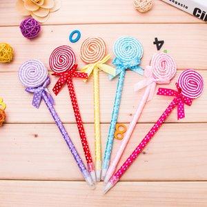 D21 lollipops ball pen creative القطيفة القلم لطلاب القرطاسية في المدارس الابتدائية والمتوسطة القرطاسية الكورية الإبداعية