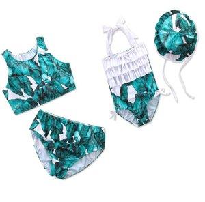 abacaxi Ins Verão Crianças Swimwear bonito Fashion Girls Swimsuits Mãe e filha roupas para crianças Define Suits Beachwear Meninas que banham BY0280
