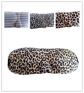 Più economico !! leopardo stampa camo 3D Eye Mask Portable Soft Travel sonno resto Cover Eye Patch Sleeping Eye Ombra