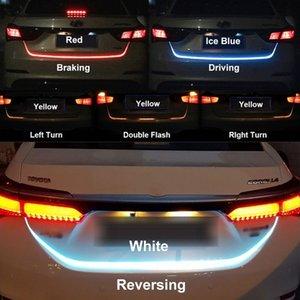 Éclairage de bande de voiture LED arrière coffre arrière lumière feu de signalisation dynamique Streamer frein clignotant inversé Leds voyant de signalisation