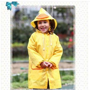 ليندا مضحك معطف المطر أطفال الأطفال معطف واق من المطر راينسويت الاطفال ماء الحيوان معطف واق من المطر 5 اللون HOT DHL مجاني