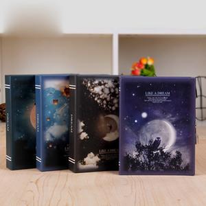 """Nuovo """"Come un sogno"""" Notebook Diario Planner ufficiale Lock Box pacchetto regalo WJ-XXWJ291-"""