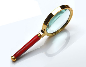 10x ручной лупа карта газета чтение увеличительное стекло объектива ювелирные изделия лупа инструменты-съемный карман лупы лупы