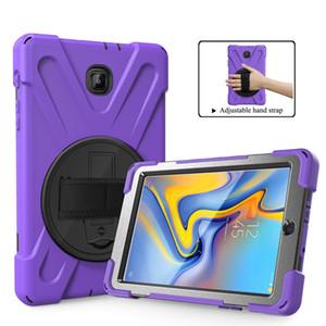 """Чехол для Samsung Galaxy Tab A 8 """"SM T387 SM-T387 S4 T387 с пиратской подставкой Гибридный доспех с камуфляжным покрытием"""