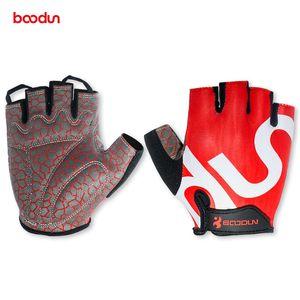 Велоспорт перчатки половина Finger мужчины велосипед Спортивные перчатки аксессуары дорога горный велосипед нескользящей дышащей мужские открытый спортивные перчатки