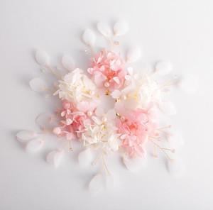 Sombrero nupcial, Sen Xian Mei, súper vestido de novia de hadas Princesa dulce flor pin