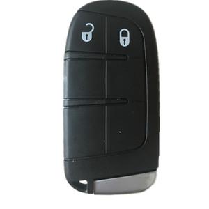 New Keyless Smart Remote Case clé pour Dodge Journey 2011-2015 2 boutons + lame porte-clés fob pour Chrysler pour Jeep