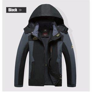 Giacca grande 6xl 7xl 8xl giacca uomo primavera autunno marchio di qualità impermeabile giacca antivento cappotto turismo giacca da montagna da uomo