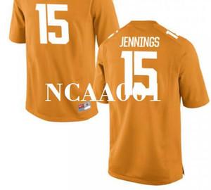 Мужчины #15 Jauan Jennings Tennessee волонтеры выпускники колледж Джерси s-4xlor пользовательские любое имя или номер Джерси