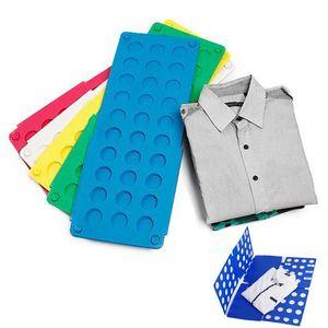 Pannello avvolgente Lazy Large Folding Clothes Board Schede di piegatura in plastica veloci e facili Prodotti per la casa di alta qualità HH7-816