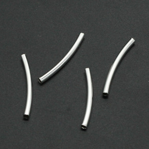 200pcs lot 25MM length Plated Bracelet Finding Twist Tube Diy Handmade Jewelry Findings Accessories