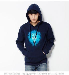 Boa qualidade personalizado Men Hoodies lã quente Brasão Homme camisola do Hoodie Projete Suéter