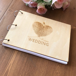 Guestbook personalizado da caligrafia Bookbook alternativo Nomes feitos sob encomenda e data do casamento Jornal A5size, impressão digital do amor Guestbook