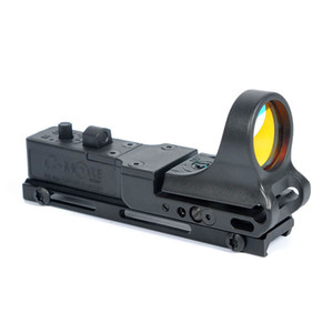 Tactical SeeMore Bahn Reflexvisier C-MORE 5 MOA Red Dot Gewehr Pistole Sight mit Integral Picatinny Mount Polymer Matte