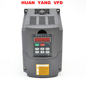 HUAN YANG Quality Variable Frequency Drive Inverter VFD NEW 2HP 1.5KW 220V 250V 380V available