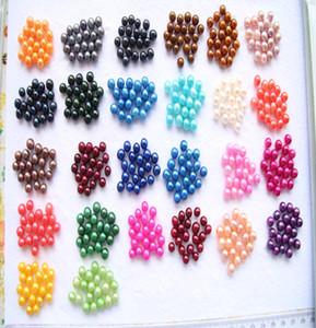 Round Oyster Perle 2018 nouvelle 20 couleur Mix grande eau douce cadeau bricolage perles naturelles vrac perles décorations pour confection de bijoux en gros