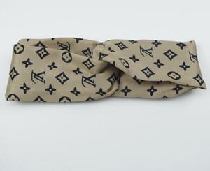 HOT Designer Elastique Bandeau pour Femmes et Hommes Mode Célèbre Marque Bandeaux Pour Femmes Fille Rétro Turban Headwraps Cadeaux 001