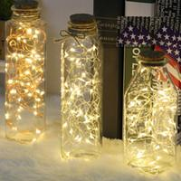 2M 20 LED lumière de fée décoration de noël LED String Lights Christmas Wedding Home Décoration usb interface Bouton cellulaire