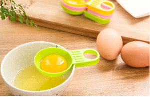 Eco Friendly cucina Filtro Strumento Egg divisore separatore dell'uovo Setacciare Gadget in plastica Strumenti di Sieve Divisore Egg Utensili da cucina all'ingrosso