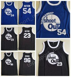 Tournoi moive Shoot Out 23 Motaw Bois Jersey Hommes 54 Kyle Watson Duane 96 Birdie Tupac Maillots de basket Above the Rim Costume Double