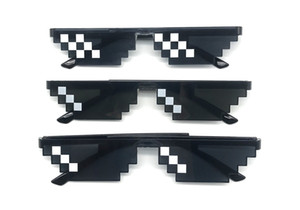 Unisex Fashion Novelty Mosaic Sun Glasses for party beach vacation