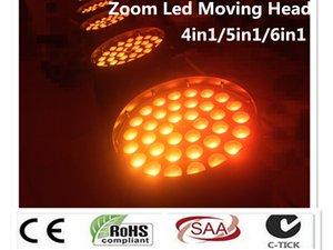 Kafa Yıkama Işın Etkisi Işık Moving Head Işık RGBWA UV DMX512 Led Moving 2X 36x12W 36x15W 36x18W 4in1 5in1 6in1 Yakınlaştırma Led