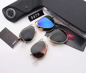 Les nouvelles femmes de gros boîte européenne et grand Américain hommes et femmes lunettes livraison gratuite Trend sunglass Pliable