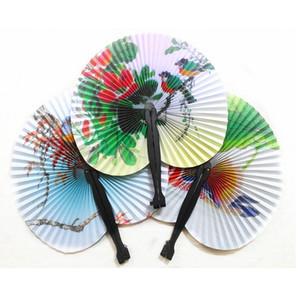 Бумажный Вентилятор Новый Праздник Продажи Бумаги Ручной Вентилятор Складной Свадьба Поставки Красочные Свадебные Украшения