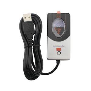 С розничной коробке URU5000 цифровой персона USB биометрические отпечатков пальцев читатель датчик для компьютера PC Home Office Free SDK