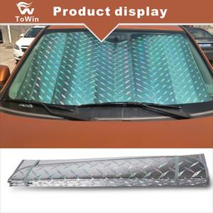 Универсальный выдвижной лобовое стекло SunShade Auto Sun Shade Cover для большинства автомобилей Грузовики SUV Защита от ультрафиолетового излучения Передние окна / Высокое качество / Портативный
