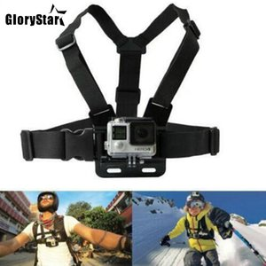 Chest Strap mount belt ل Gopro hero 7 6 5 Xiaomi yi 4K Action camera Chest Mount Harness for Go Pro SJCAM SJ4000 sport cam fix