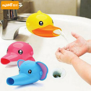 60 pc Free shipping Happy Fun Animals Faucet Extender Baby Tubs Kids Hand Washing Bathroom Sink Gift Fashion and Convenient