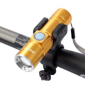 Велосипед свет Ультра-яркий стрейч зум CREE Q5 200 м велосипедов передний светодиодный фонарик лампа USB аккумуляторная Велоспорт свет