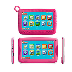 "NEW Kids Brand Tablet PC 7"" Quad Core children tablet Android 4.4 Allwinner A33 8GB google player wifi + big speaker + protective cover"
