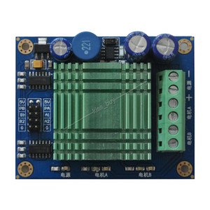 Freeshipping 60A DC módulo de accionamiento del motor Control de velocidad del motor de alta potencia Dual Channel H-bridge fuente de alimentación 12V ~ 30V DC 24V