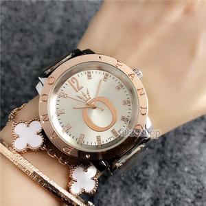 Yeni Kadın Saatler Bayanlar İzle Moda Lüks PANDORA Bilezik Kadınlar Için Saatler Gül Altın Rhinestone Saat Kadınlar reloj mujer saat