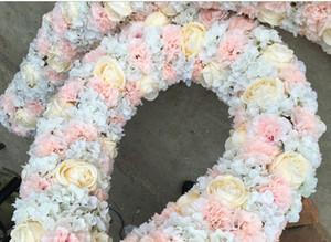 زهور الزفاف المركزية الزهور ديكور المنزل فندق حزب المرحلة الطريق الرصاص قوس ديكور روز الكوبية زهرة جدار الخلفيات