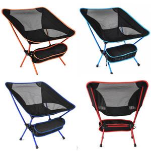 Taşınabilir Katlanır Kamp Sırt Çantası Sandalye Yürüyüş Piknik Plaj Kampı Backpacking Açık Festivaller Için Kompakt Ağır Sandalyeler WX9-660