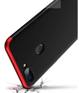 Para oppo r11 caso de telefone celular 3-em-1 de 360 graus à prova de choque cheia de armadura difícil tampa traseira inteligente para oppo r11 20 pçs / lote