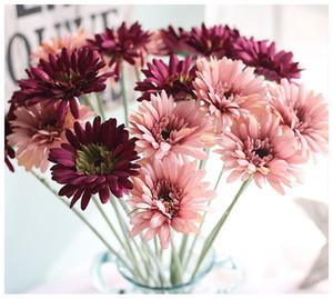 Transvaal de seda Daisy 23 Cores 55 cm Barberton Daisy Flor Artificial Sol Flor Para Decoração de Casamento Decoração de Casa